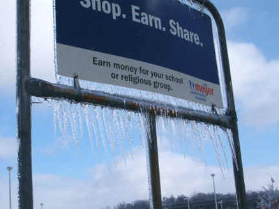 ice meijer sign
