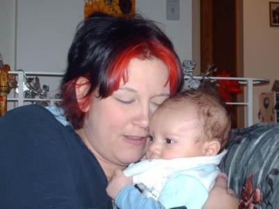 Talon and Mum